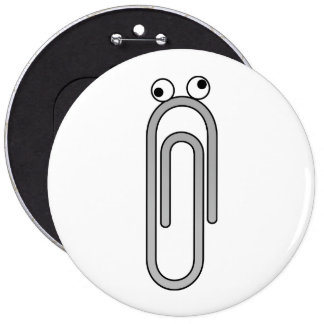 Crazy Paperclip Button