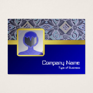 Crazy Pattern Business Card