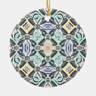 Crazy Pattern Christmas Tree Ornament