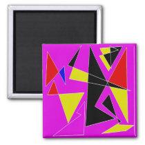 Crazy Patterns Magnet