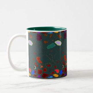 Crazy Pavey Abstract Art Mug
