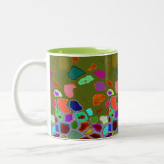 Crazy Pavey (Number 2) Abstract Art Mug