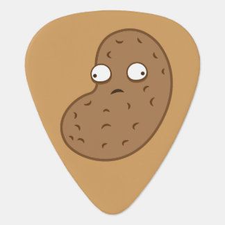 Crazy peanut guitar pick