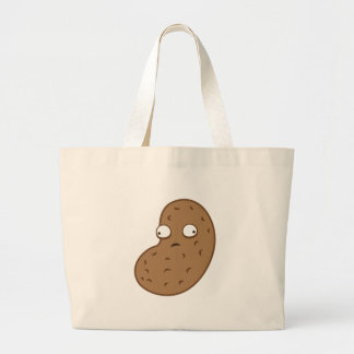 crazy peanut large tote bag