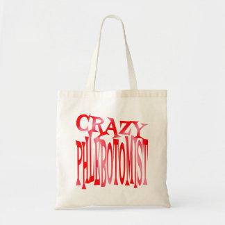 Crazy Phlebotomist Tote Bag