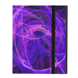CRAZY PHOTON pink blue iPad Cases