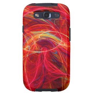 CRAZY PHOTON pink red Samsung Galaxy S3 Case