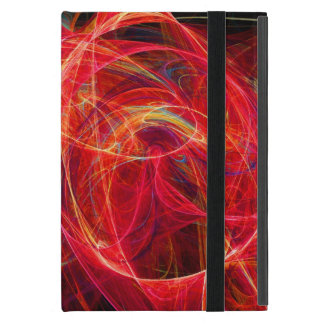 CRAZY PHOTON pink red Case For iPad Mini