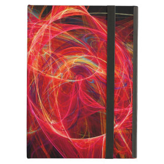 CRAZY PHOTON pink red iPad Air Cover