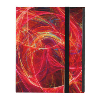 CRAZY PHOTON pink red iPad Case
