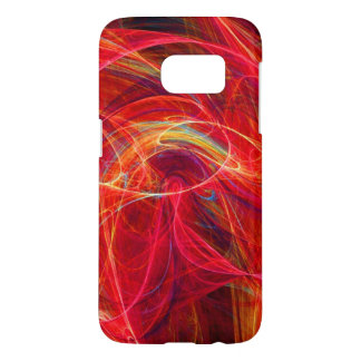 CRAZY PHOTON pink red Samsung Galaxy S7 Case