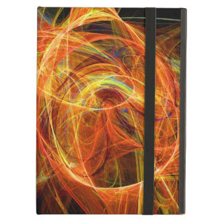CRAZY PHOTON  red yellow Case For iPad Air