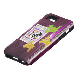Crazy Piano Dragons iPhone 5 Cases
