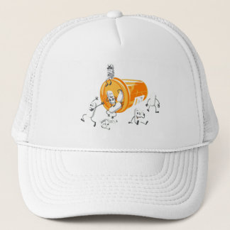 Crazy pills trucker hat