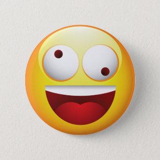 Crazy Pinback Button