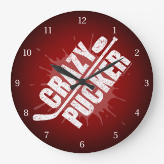 Crazy Pucker Wall Clocks