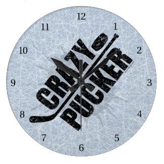Crazy Pucker Wallclocks