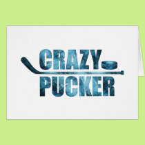 Crazy Pucker (Hockey) Card