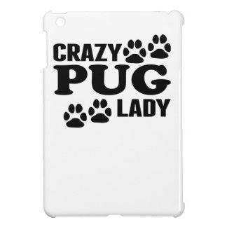Crazy Pug Lady Cover For The iPad Mini