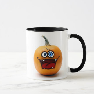 crazy pumpkin mug