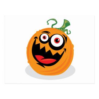 Crazy Pumpkin Post Card