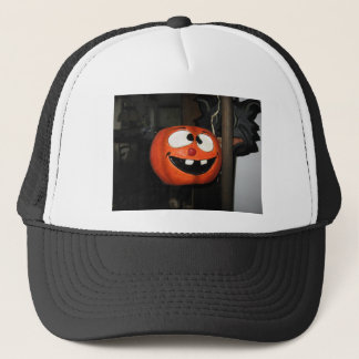 Crazy Pumpkin Trucker Hat