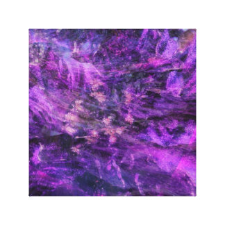 Crazy Purple Canvas Print