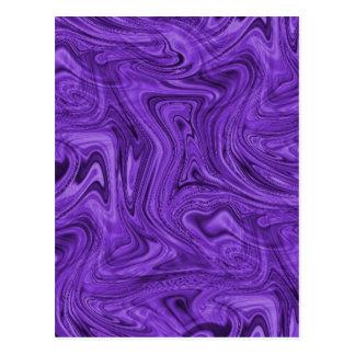 crazy_purple_swirlz postcard