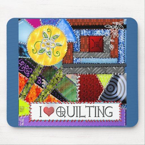 crazy quilt mouse pads