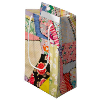 Crazy Quilt Small Gift Bag