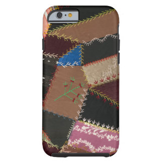 Crazy quilt upholstery 1795-1815 iPhone 6 case
