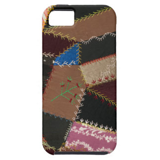 Crazy quilt upholstery 1795-1815 iPhone 5 cover