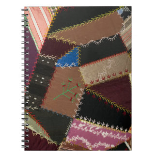 Crazy quilt upholstery, 1795-1815 spiral note books