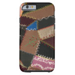 Crazy quilt upholstery, 1795-1815 tough iPhone 6 case