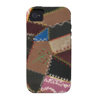 Crazy quilt upholstery, 1795-1815 vibe iPhone 4 cover