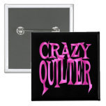 Crazy Quilter in Pink Pins