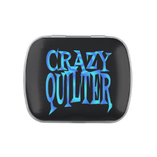 Crazy Quilter Jelly Belly Tin
