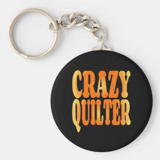 Crazy Quilter Keychains