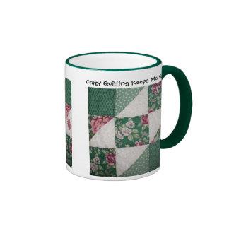 Crazy Quilting Mug