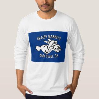 crazy rabbet gold coast long sleeve T-Shirt