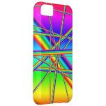 Crazy rainbow design. case for iPhone 5C