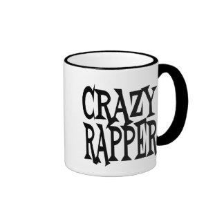 Crazy Rapper Ringer Coffee Mug