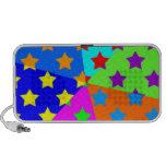 Crazy Rave Color Stars Portable Speaker