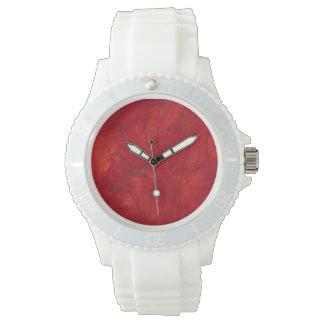 crazy red sport watch
