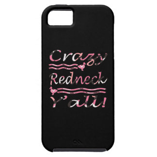 Crazy Redneck Yall Pink Camouflage Apple Iphone5 Case