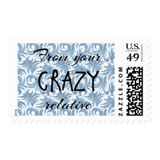 Crazy Relative Stamp (Male)