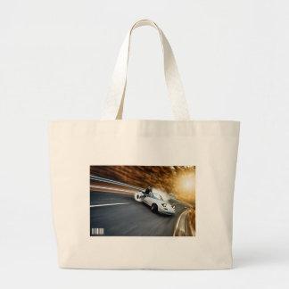 Crazy Roadster Drifter Jumbo Tote Bag