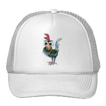 Crazy Rooster Hat