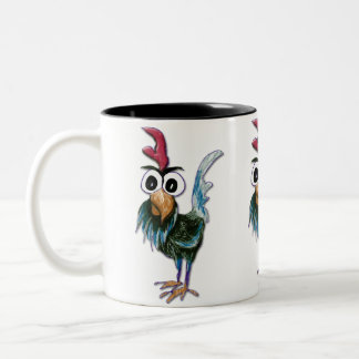 Crazy Rooster Mug