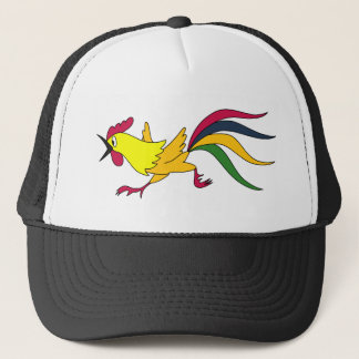 Crazy Rooster Trucker Hat